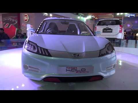 Mahindra showcases future tech at Auto Expo 2014