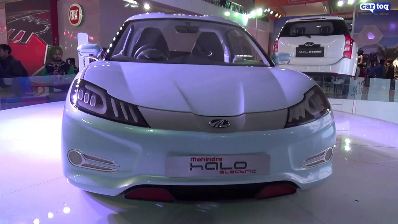 Mahindra Showcases Future Tech At Auto Expo 2014 Youtube