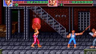 Return of Double Dragon/Super Double Dragon 2 player Netplay SNES game
