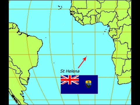 St Helena On World Map.St Helena Airport Youtube