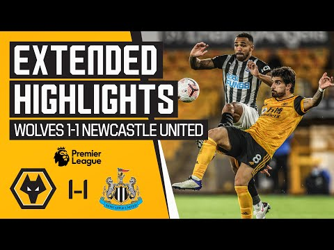 Jimenez stunner cancelled out by late leveller | Wolves 1-1 Newcastle United | Extended Highlights