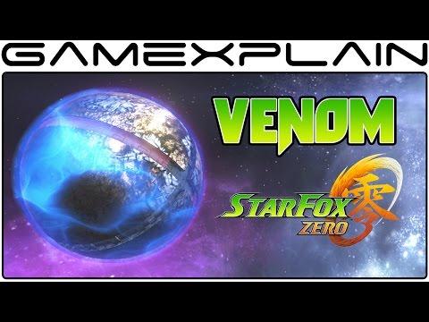 Star Fox Zero - Venom: The Final Battle Playthrough (Final Level)