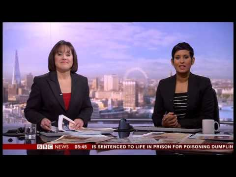 BBC World News 'The World Today' 20 January 2014 Tribute to