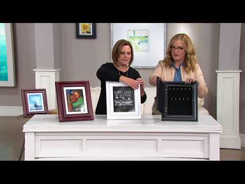 Hidden Treasures Picture Frame with Jewelry Storage on QVC