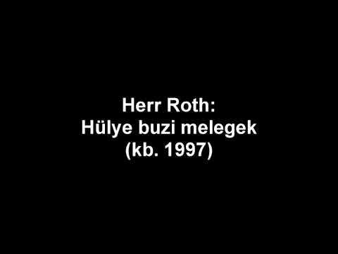 Laczfy archívumából: Herr Roth - Hülye buzi melegek