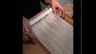 Уроки ткачества. Часть 1. Как начать работу над гобеленом.(Нурали Адамкулов. Уроки ткачества. Видеоурок о том, как соткать гобелен. Гобелен своими руками. Часть 1...., 2015-08-18T20:58:29.000Z)