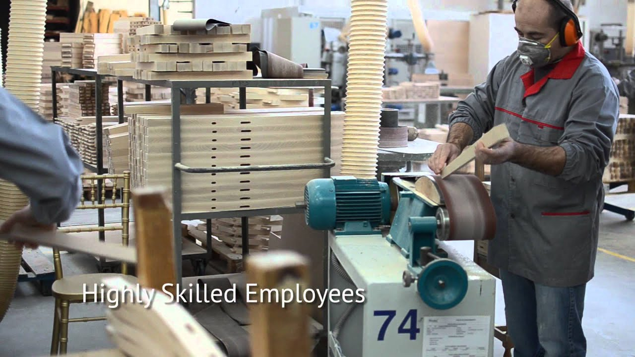 How Are Chairs Made Modern Grey Leather Dining Chair Fenabel Our Wood Youtube