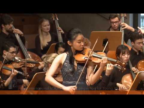 SPOHR Violin Competition: Sin Ying Chan performs Mendelssohns Violin Concerto in E Minor
