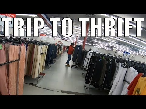 Trip to The Thrift and Habitat For Humanity - Old Stomping Grounds