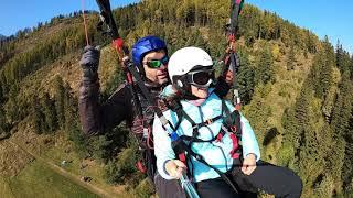 Lot akrobatyczny z widokiem na Tatry – Słowacja video