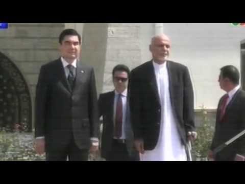Turkmenistan President Arrives in Kabul/ رییس جمهور ترکمنستان به کابل رسید