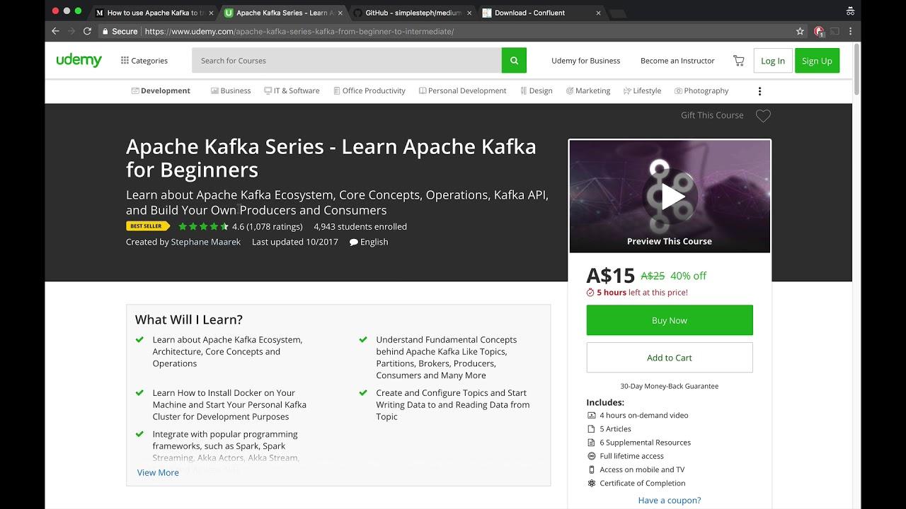 How to use Apache Kafka to transform a batch pipeline into a