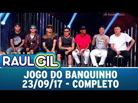 Jogo do Banquinho - Completo | Programa Raul Gil (23/09/17)