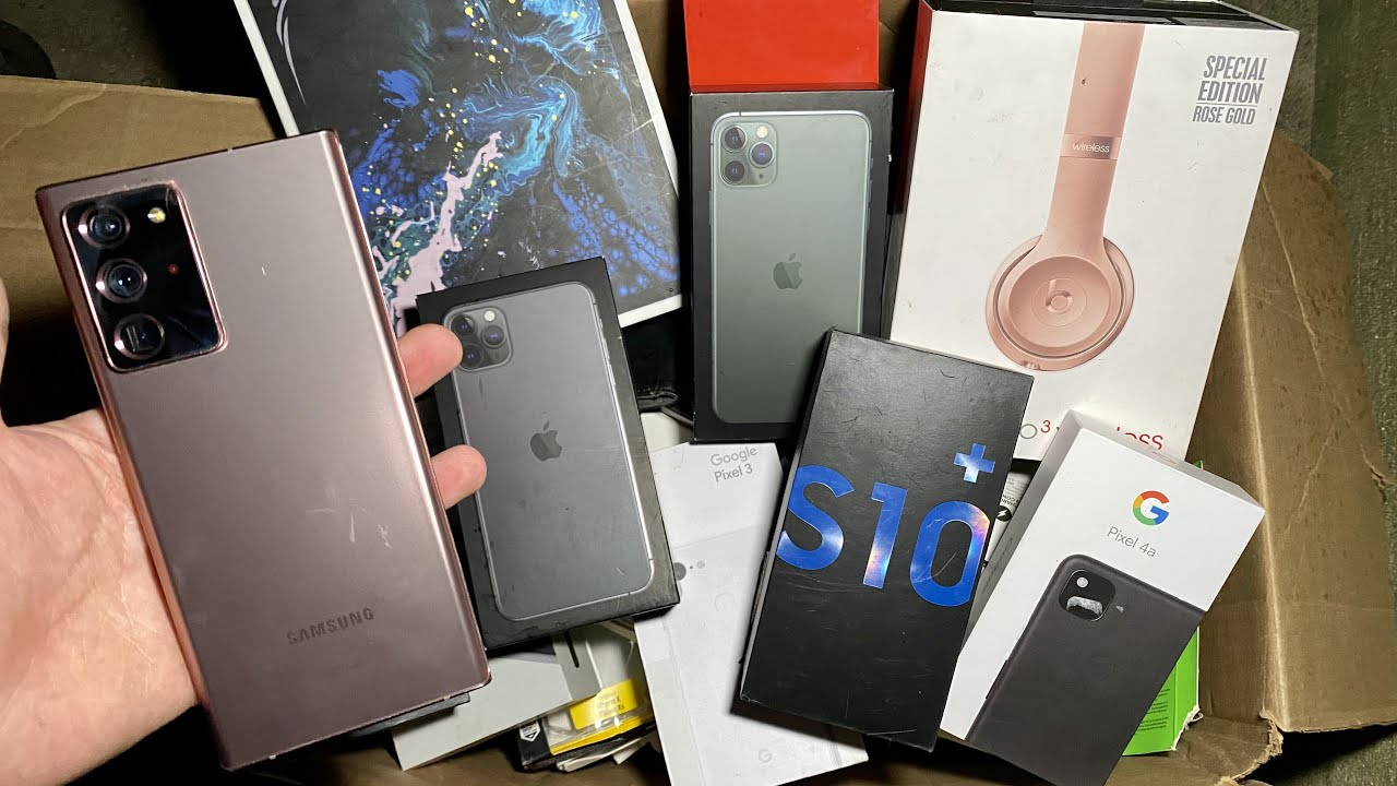 FOUND GALAXY NOTE20 ULTRA 5G DUMPSTER DIVING CELLPHONE STORE!!