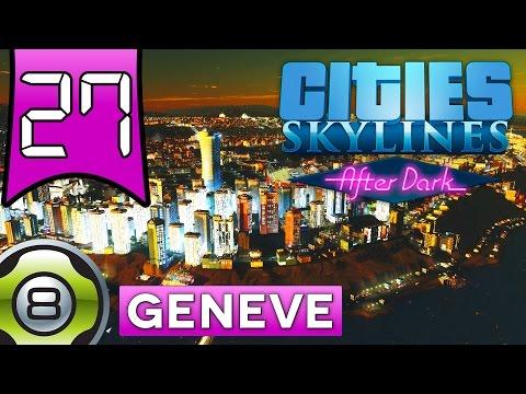 Cities Skylines After Dark FR - Ep.27 - L'énorme Gula's Kingdom Tower