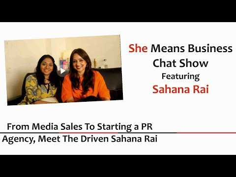 From Media Sales to Starting a PR Agency - Meet the Driven Sahana Rai