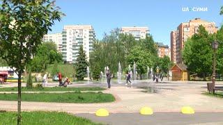 У Сумах відкрили літні майданчики кафе, дозволили відвідувати парки