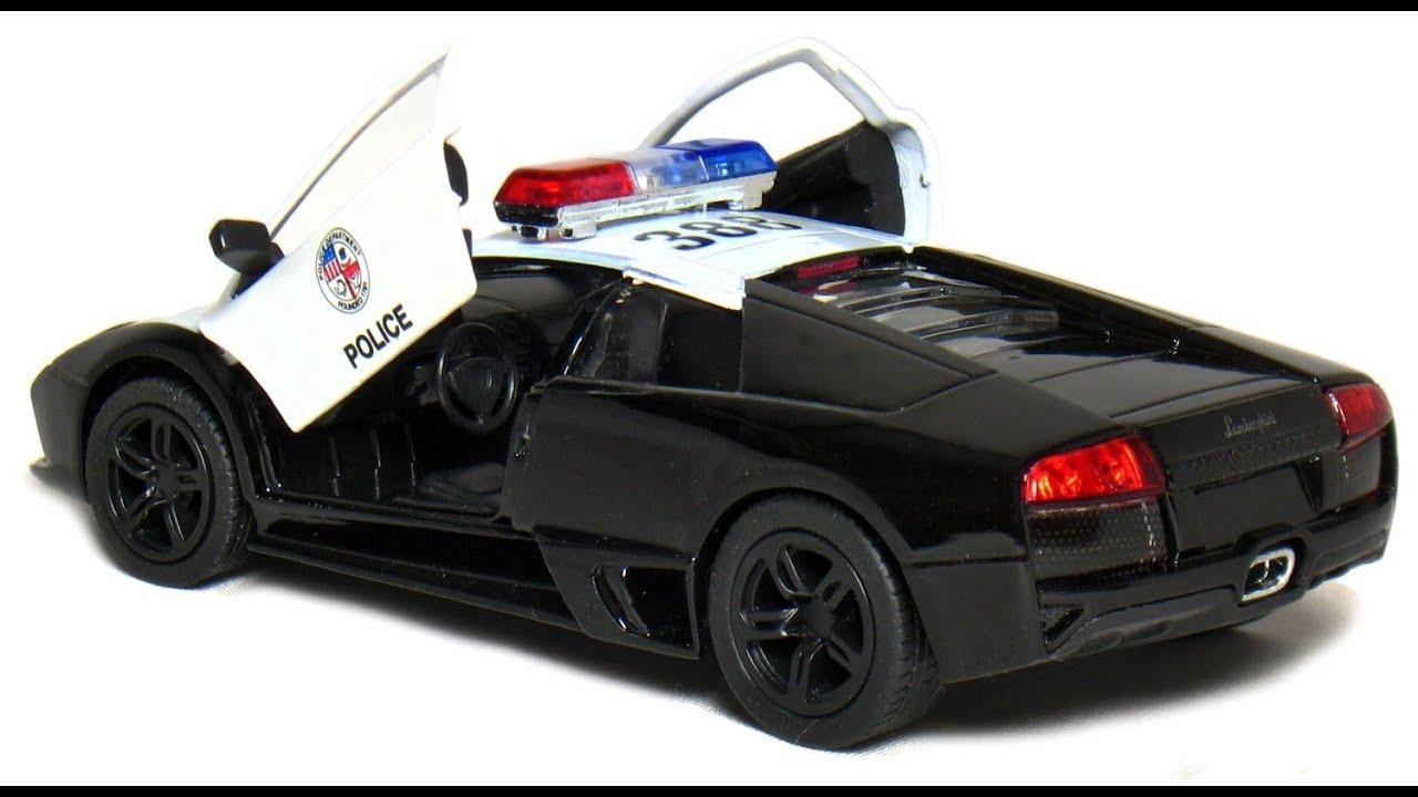 lamborghini murcielago lp640 4 voiture de police jouet pour les enfants youtube. Black Bedroom Furniture Sets. Home Design Ideas