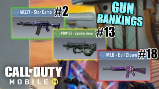 Ranking Every Weapon in Call of Duty Mobile