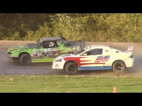 Mini Stock Heat Two | Genesee Speedway | 9-16-18