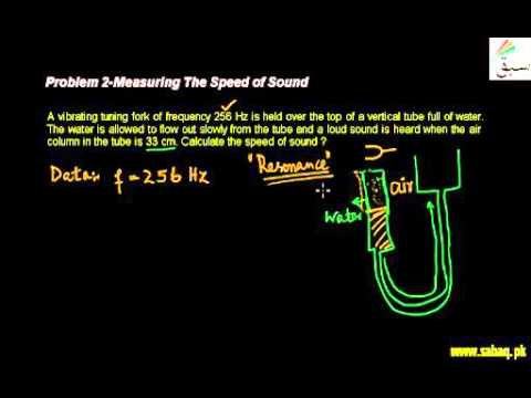Problem 2 Measuring The Speed Of Sound - YT
