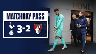 MATCHDAY PASS | TUNNEL CAM | SPURS 3-2 AFC BOURNEMOUTH