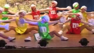 элегия танец Шоколадный бум г.Антрацит 2014 г