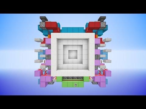 Minecraft: HUGE 6x6 Piston Vault Door [Tutorial]
