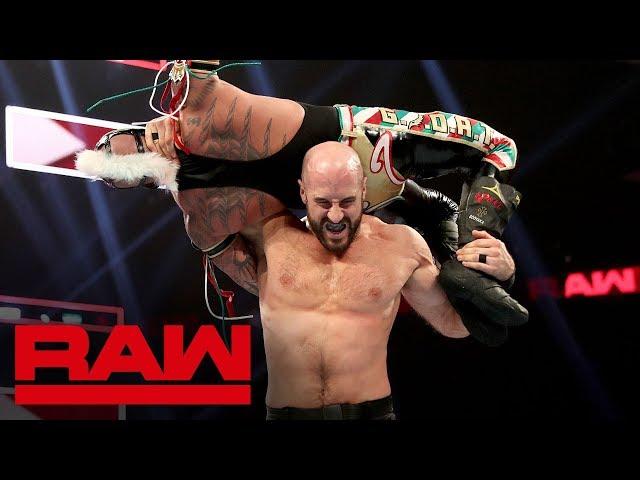 Rey Mysterio vs. Cesaro: Raw, Sept. 16, 2019