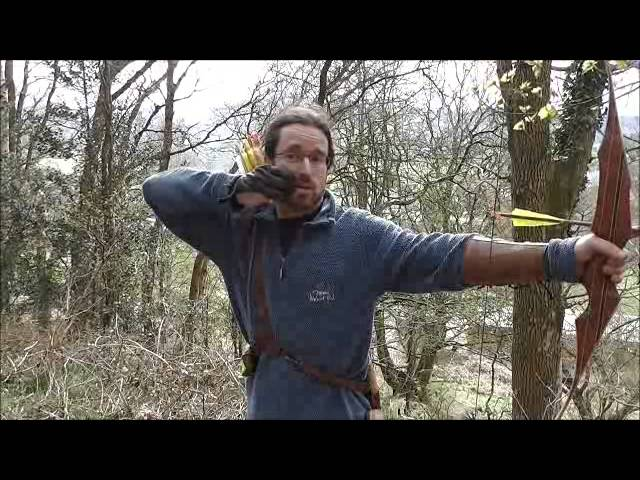Instinctive archery - Basic Shooting Technique THE FRAME