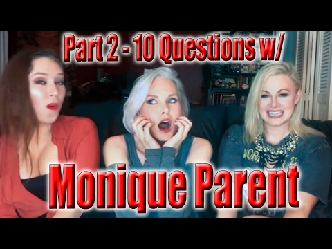 10 Questions with Monique Parent - Part 2 | WIHM | Scream Queen Stream