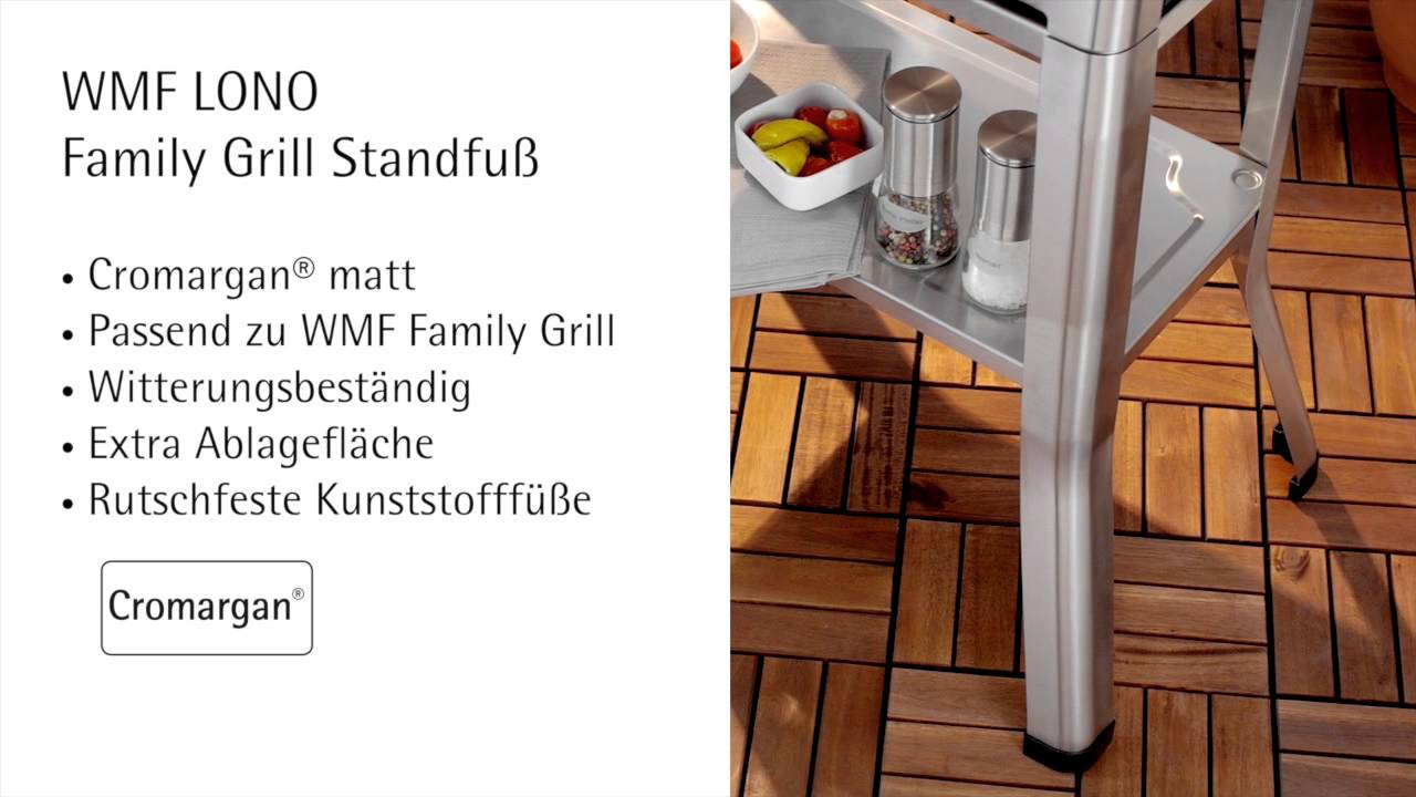 Wmf Elektrogrill Anleitung : Wmf lono family grill youtube