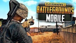 BATTLEGROUNDS on my PHONE! - PUBG Mobile Gameplay w/ Josh