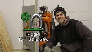 Ridgid 10 Inch Table Saw
