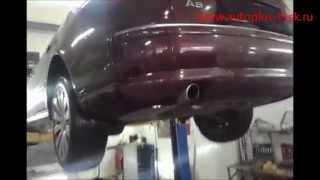 Ремонт и замена катализаторов Audi A8 4.2 на пламегасители