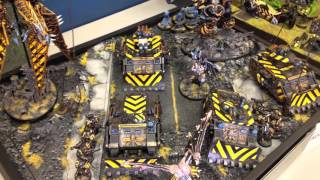 Dark Eldar go to Warmasters 40k Tournament