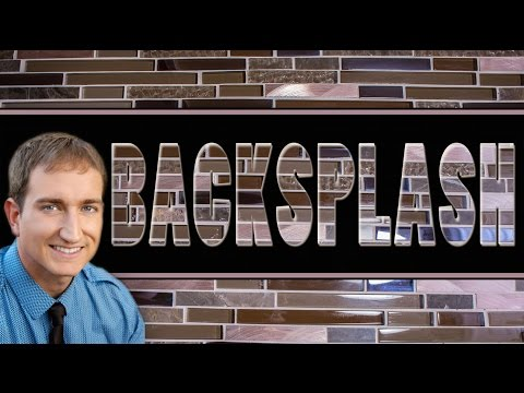 How To Install Tile BackSplash and Cut Electrical Outlet Spaces