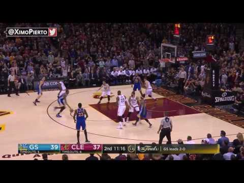 Kyrle Korver's Baseline Dunk   Warriors vs Cavaliers   Game 3   June 7, 2017   2017 NBA Finals