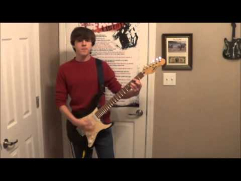 Relient K - I'm getting nuttin' for Christmas guitar cover - YouTube
