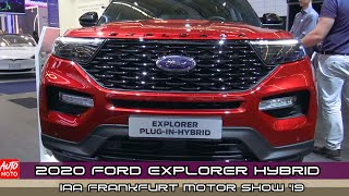2020 Ford Explorer Plug-In Hybrid - Exterior And Interior - IAA Frankfurt Motor Show 2019