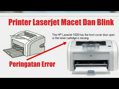Printer Hp Laserjet Macet The Hp Laserjet 1020 Has The Front Cover