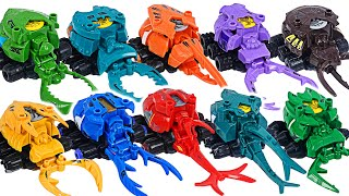 Robot insect Bugs Bot Ignition 10! Go! Beetle VS Stag beetle army!   DuDuPopTOY
