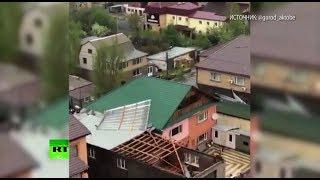 Апокалипсис сегодня: ураган накрыл столицу Казахстана