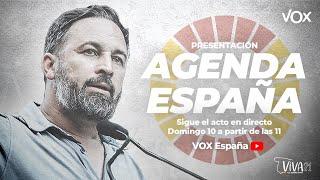 Presentación AGENDA ESPAÑA en el VIVA21