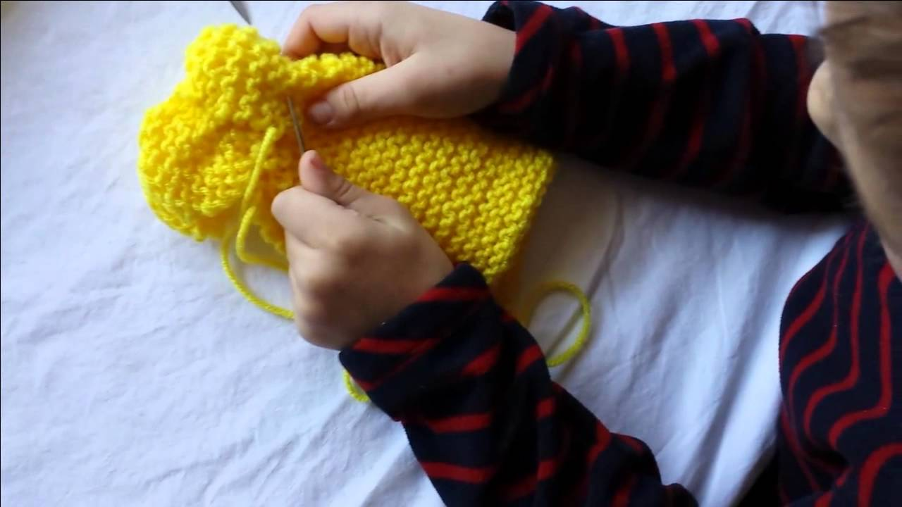 Easy Kids Knitting Projects: Knit a Pikachu - YouTube