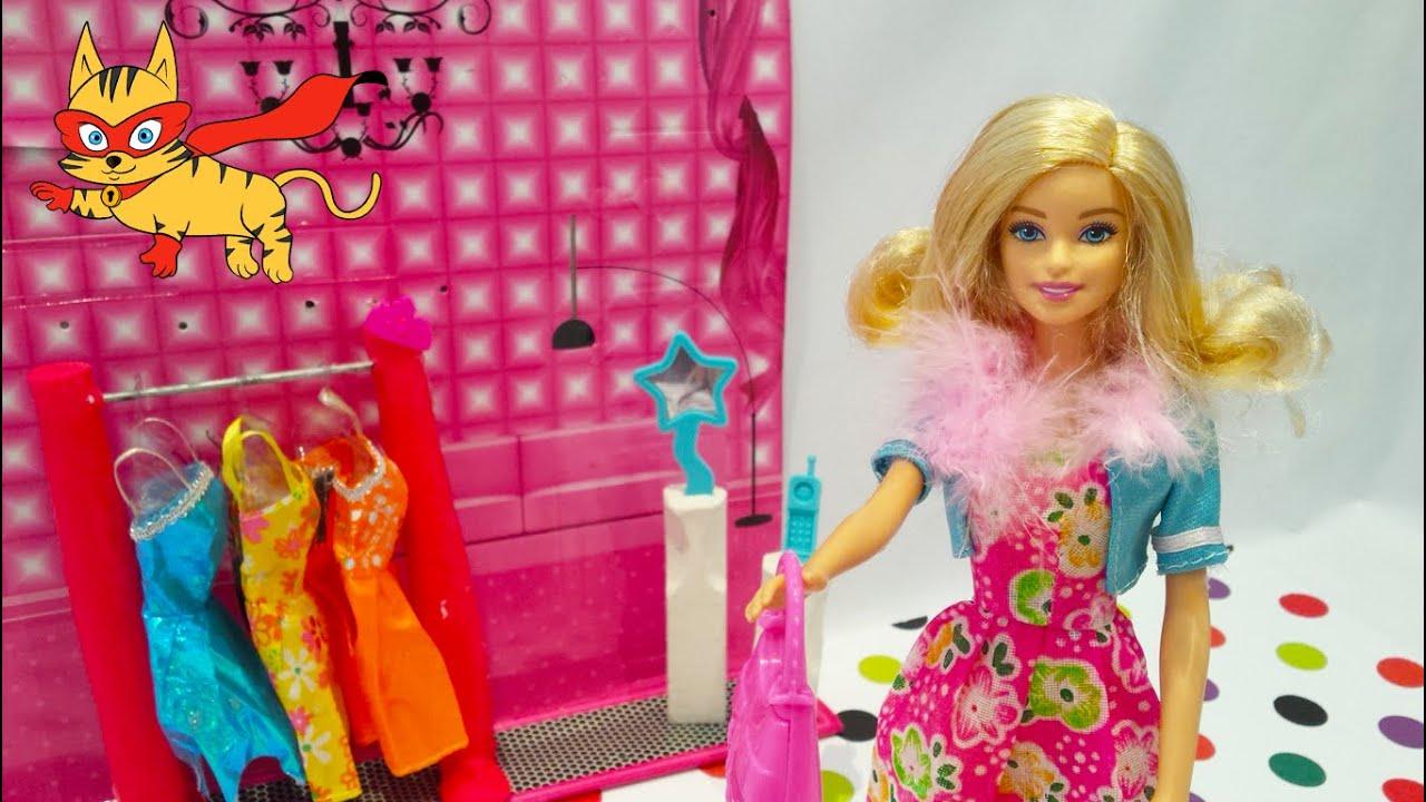 ✿ Juego de vestir a barbie ✿ Barbie se viste para ir a trabajar ...