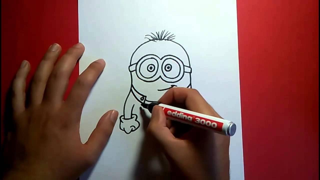 Como Dibujar Un Minion Paso A Paso Gru Mi Villano Favorito How