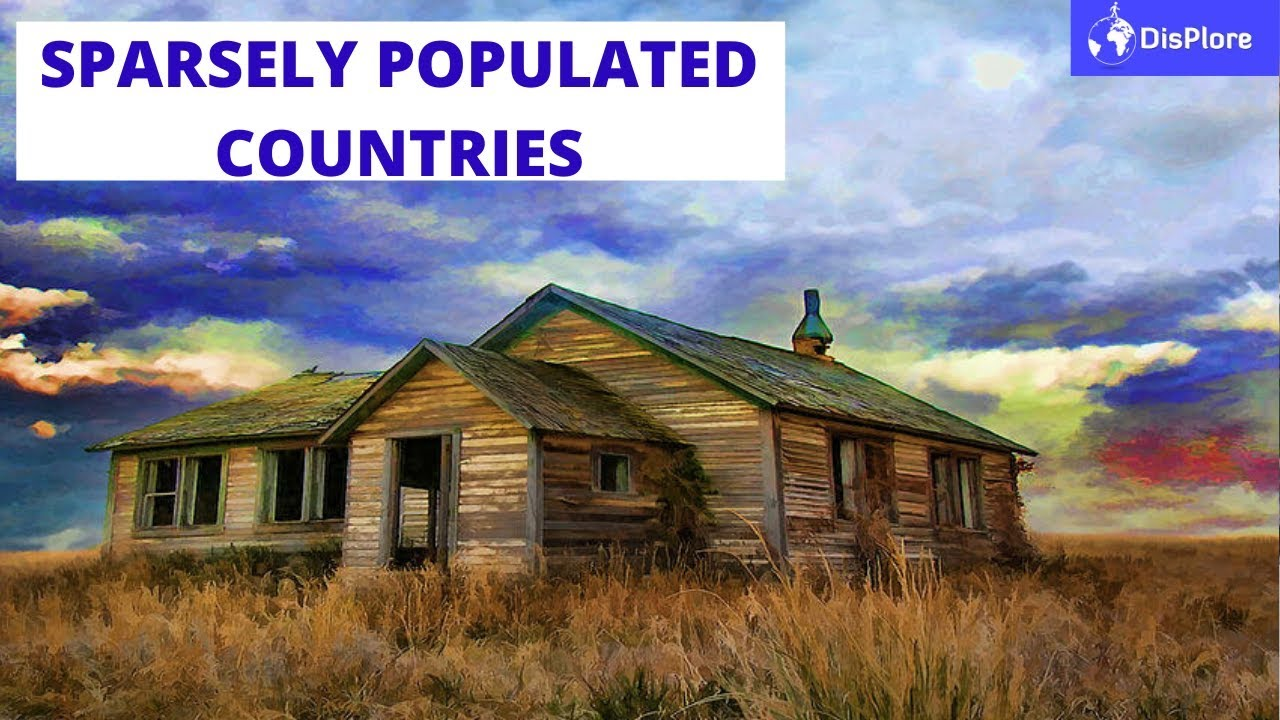 Top 10 Most Sparsely Populated Countries in Africa 2020