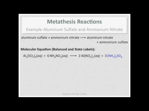 how to make aluminum sulfate