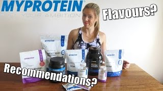 MASSIVE MyProtein Review | Whey, BCAAs, Preworkout + MORE